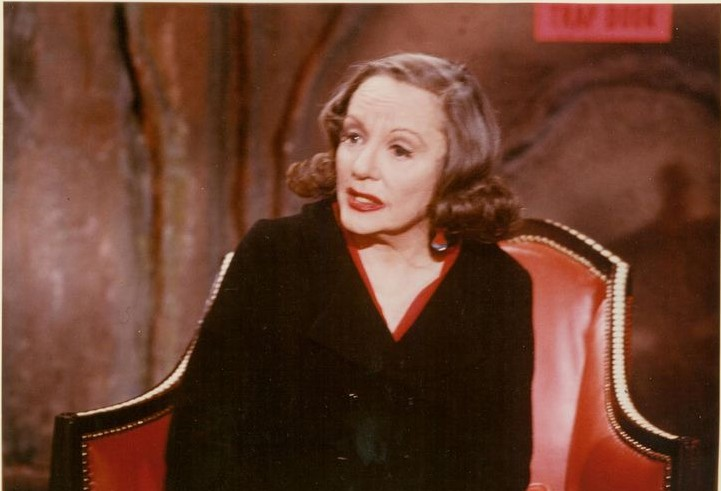 Tallulah Bankhead as The Black Widow