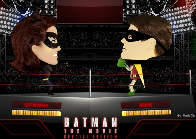 Batman Movie boxing game