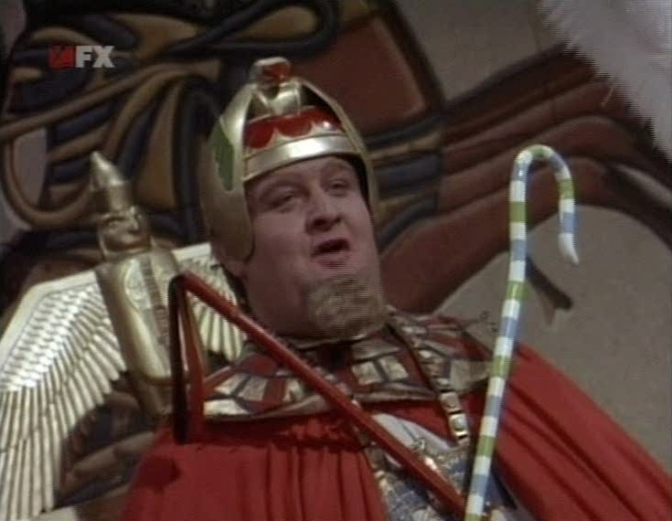 King Tut played by Victor Buono