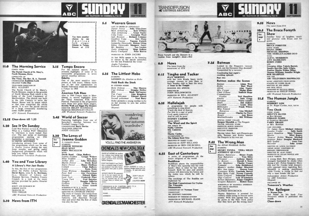 Batman TV Guide UK