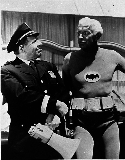 Alfred in Batman costume - Alan Napier