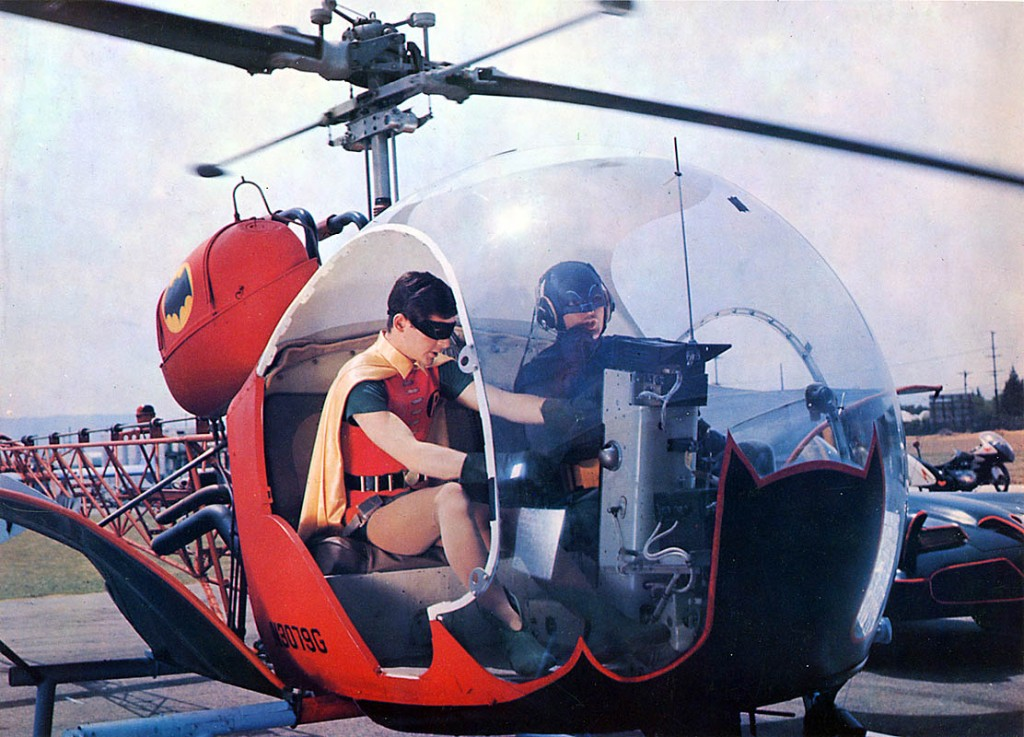 The Bat-copter