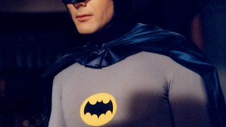 Adam West as the 1966 Batman