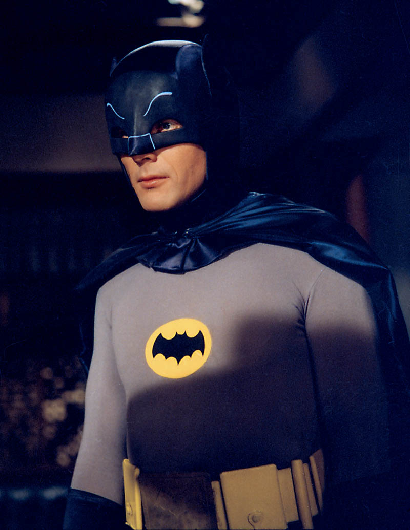 Adam West as the 1966 Batman