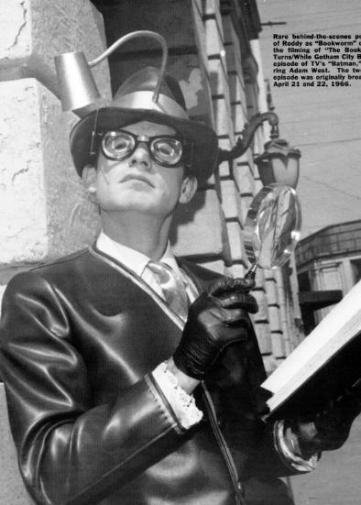Roddy McDowall as Bookworm in Batman 1966