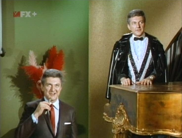 Harry with Chandell both played by Liberace.