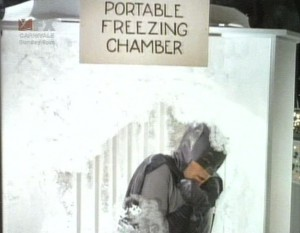 Batman's freeze chamber