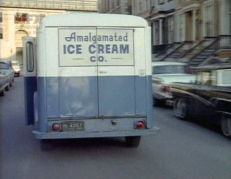 Mr. Freeze's ice cream van.
