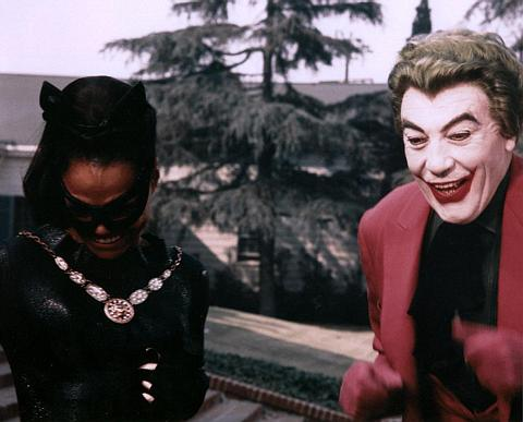 The Joker teams up with Eartha Kitt's Catwoman