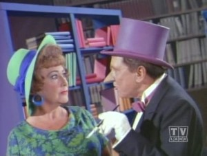 Ethel Merman with Burgess Meredith