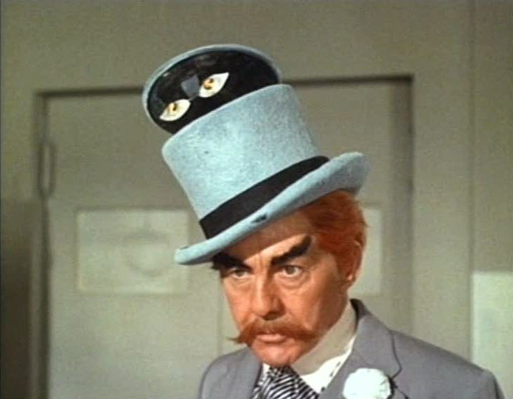 David Wayne as The Mad Hatter