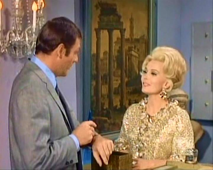 Zsa Zsa Gabor as Minerva