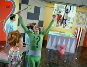 John Astin as The Riddler