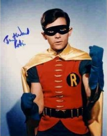 Burt Ward as Robin autograph