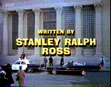 Stanley Ralph Ross credit