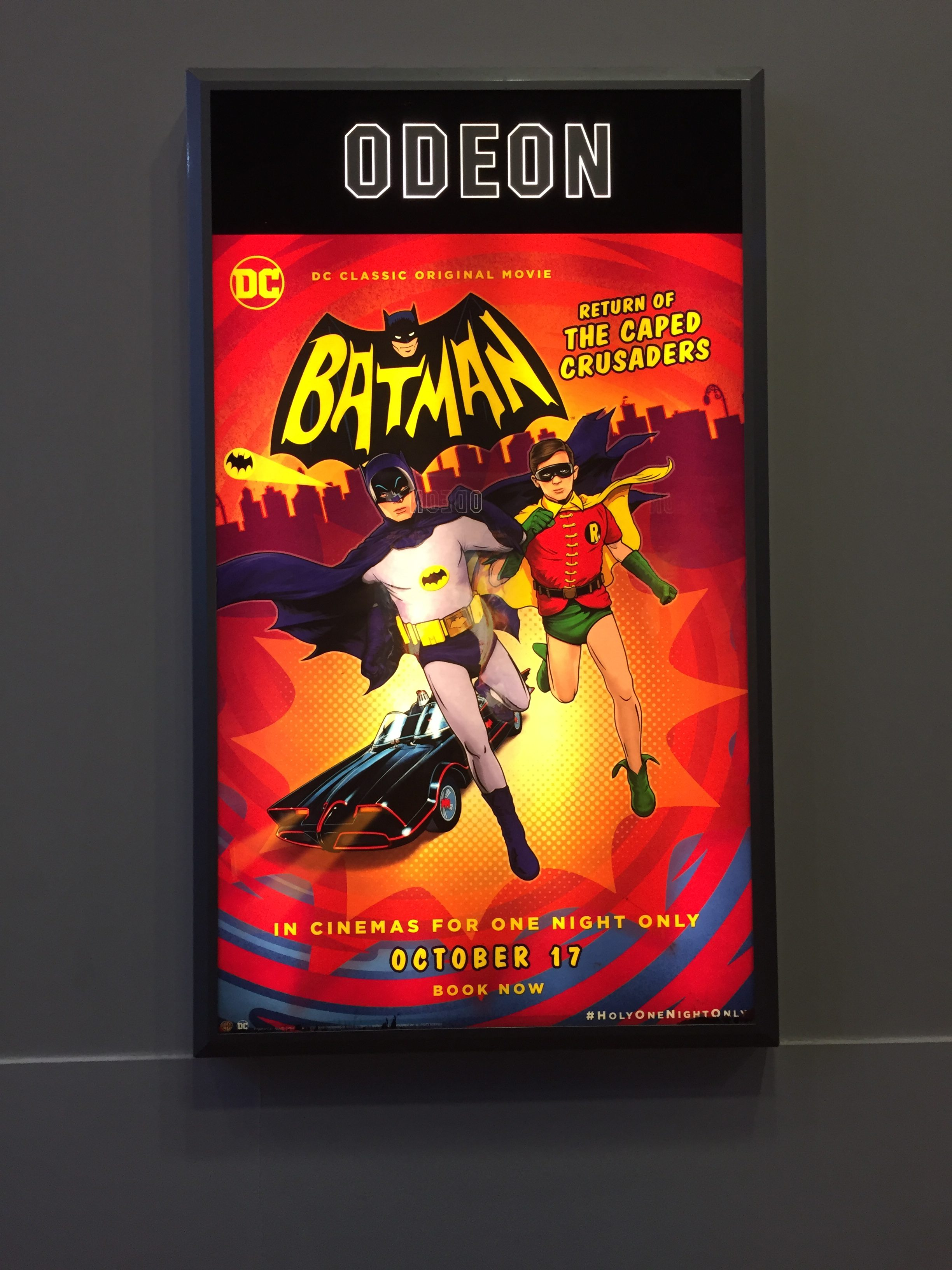 Batman: Return of the Caped Crusaders cinema poster
